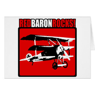 Cartes Baron rouge Rocks !