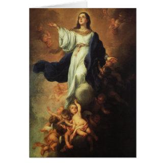 Cartes Bartolome Murillo - acceptation de la Vierge