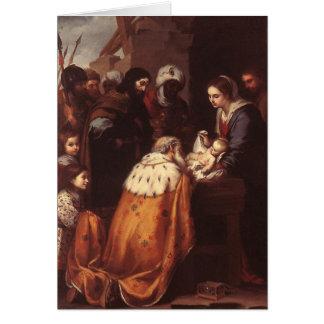 Cartes Bartolome Murillo - l'adoration de la