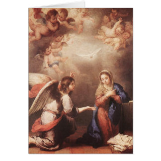 Cartes Bartolome Murillo - l'Anunciation