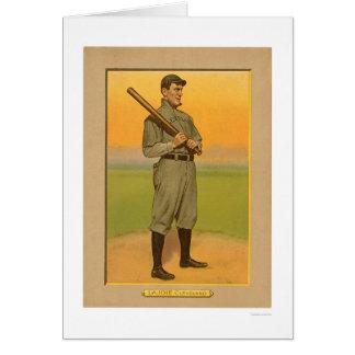 Cartes Base-ball 1911 de Lajoie Cleveland de petit somme