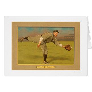 Cartes Base-ball 1911 de tigres de Schmidt de patron