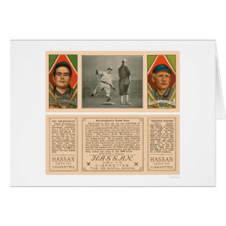 Cartes Base-ball 1912 de Cleveland Indians