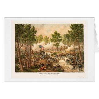 Cartes Bataille de Spottsylvania par Kurz et Allison 1864
