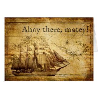 Cartes bateau de pirate