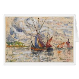 Cartes Bateaux de pêche à La Rochelle, c.1919-21