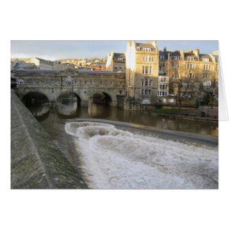 Cartes Bath de pont de Pulteney