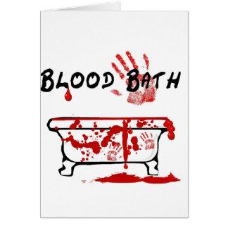 Cartes Bath de sang