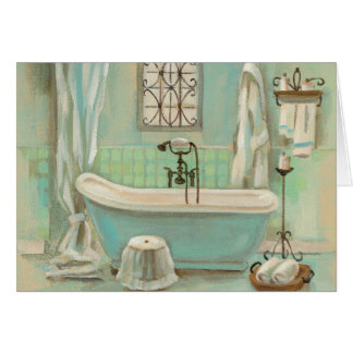 Cartes Bath en verre de tuile