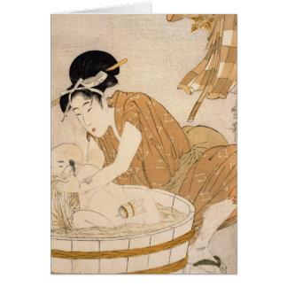 Cartes Bath, période d'Edo