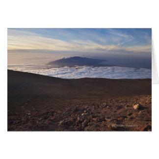 Cartes Bâti Haleakala, parc national de Haleakala, Maui,