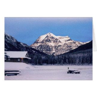 Cartes Bâti Robson en hiver