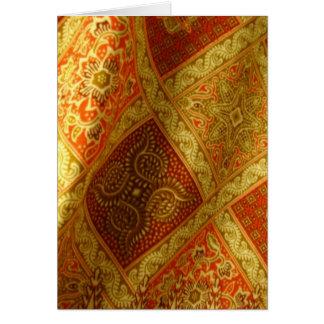 Cartes Batik indonésien