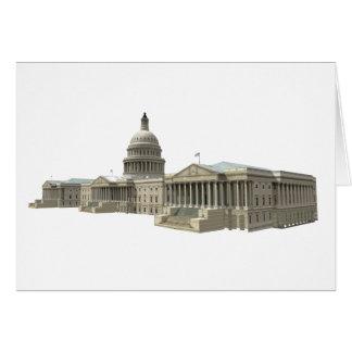 Cartes Bâtiment capitale des USA : Washington DC