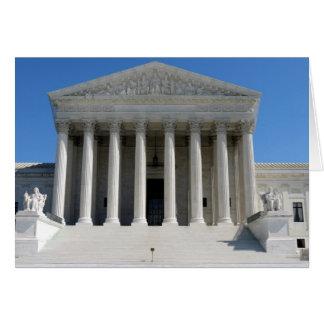 Cartes Bâtiment de court suprême des Etats-Unis