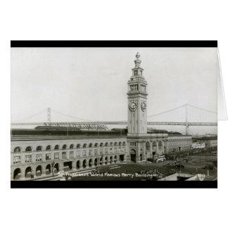Cartes Bâtiment de ferry, cru de San Francisco