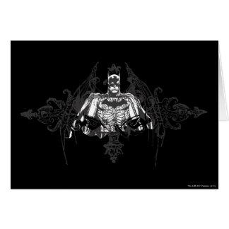 Cartes Batman avec des os