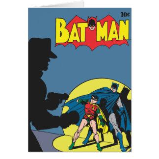Cartes Batman comique - avec Robin