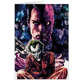Cartes Batman - couverture #11 démontée par Arkham