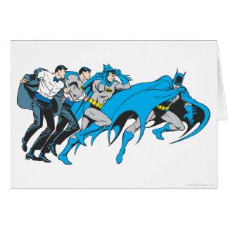 Cartes Batman/transformation de Bruce