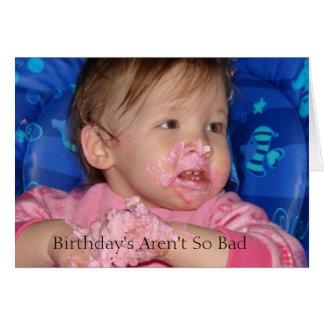 Cartes bday5, anniversaire ne sont pas aussi mauvais