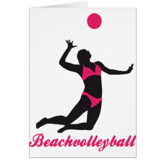 Cartes beach volleyball