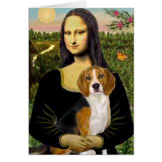 Cartes Beagle 7 - Mona Lisa