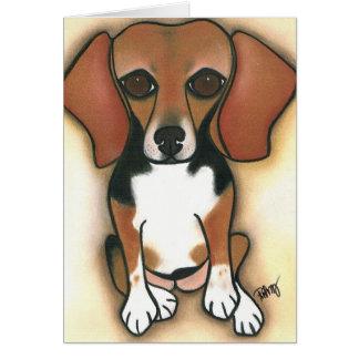 Cartes Beagle de Hollywood par Robyn Feeley
