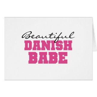 Cartes Beau bébé danois