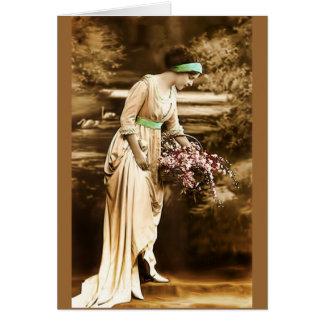 Cartes Beauté vintage VII