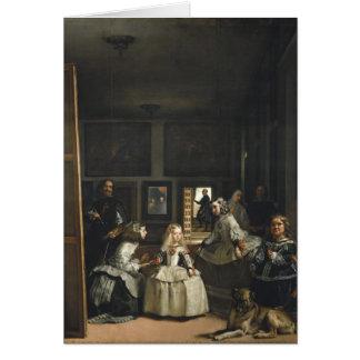 Cartes Beaux-arts de Las Meninas Diego Velázquez