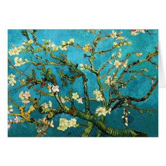 Cartes Beaux-arts se développants d'arbre d'amande de Van