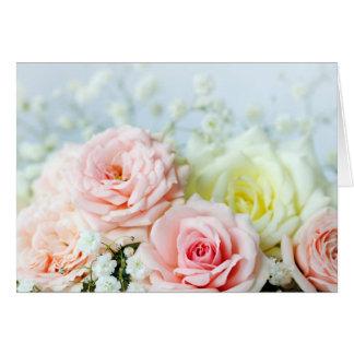 Cartes Beaux roses