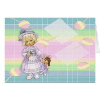 Cartes Bébé - poupée