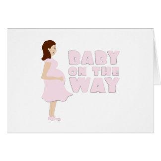 Cartes Bébé sur le chemin