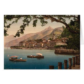 Cartes Bellagio I, lac Como, Lombardie, Italie