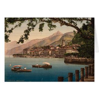 Cartes Bellagio, lac Como