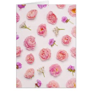 Cartes Belle composition florale