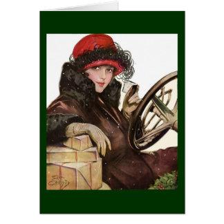 Cartes Belle, des achats vintages de dame Noël