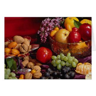 Cartes Belle disposition de fruit