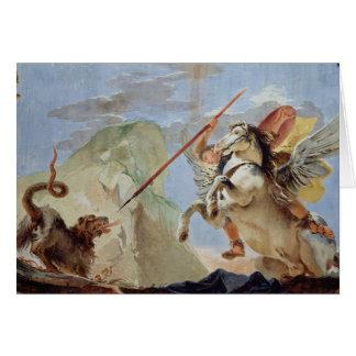 Cartes Bellerophon, Pegasus de monte, massacrant les