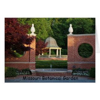 Cartes Belvédère au jardin botanique du Missouri