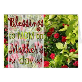 Cartes Bénédictions à la maman le jour de mère