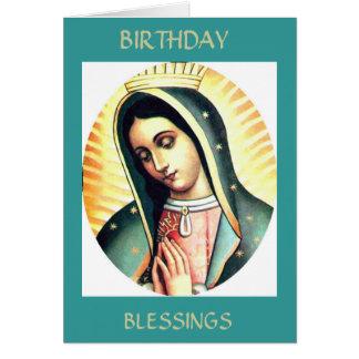 Cartes Bénédictions d'anniversaire