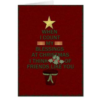 Cartes Bénédictions de Noël