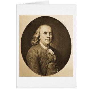 Cartes Benjamin Franklin - glissière de lanterne magique