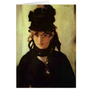 Cartes Berthe Morisot par Edouard Manet
