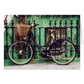 Cartes Bicyclette au repos