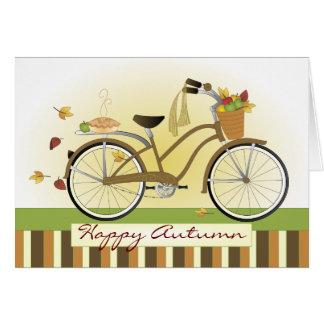 Cartes Bicyclette de la livraison de tarte