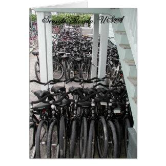 Cartes Bicyclettes de bord de la mer